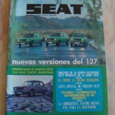 Coches: (TC-21) REVISTA SEAT 78 NUMERO 129. Lote 91675005