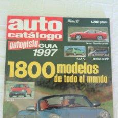 Coches: AUTO CATÁLOGO 1997. Lote 91719680