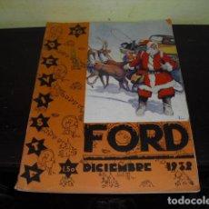 Coches: REVISTA FORD Nº 20 - DICIEMBRE 1932 -. Lote 91777910