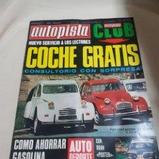 Coches: LOTE 39 REVISTA REVISTAS AUTOPISTA 1970 SEAT RENAULT CITROEN ETC.... Lote 92132753