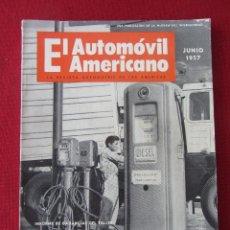 Coches: REVISTA EL AUTOMÓVIL AMERICANO. JUNIO 1957. Lote 93139620