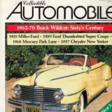 Coches: REVISTA COLLECTIBLE AUTOMOBILE Nº 4 VOLUMEN 5. DOSSIER: THE CARS OF 1942. REPORTAJES: BUICK VILDCAT.. Lote 93191135