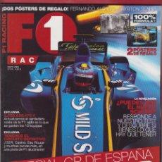 Coches: REVISTA F1 RACING Nº 63, 98 PAGS ESPECIAL GP ESPÀÑA , ACTUALIZAMOS EL COSTE DE LA F1 , AÑO 2004. Lote 205666105