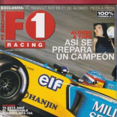 Coches: REVISTA F1 RACING Nº 53,98 PAGS ,ALONSO A TOPE, ASI SE PREPARA EL CAMPEON. MARK WEBBER AÑO 2003. Lote 93526020