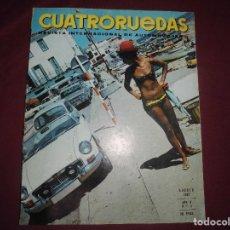 Coches: REVISTA ANTIGUA CUATRORUEDAS NUMERO 44. Lote 93778490