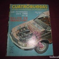 Coches: REVISTA ANTIGUA CUATRORUEDAS NUMERO 46. Lote 93778725