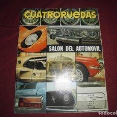 Coches: REVISTA ANTIGUA CUATRORUEDAS NUMERO 65. Lote 93779095
