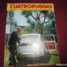 Coches: REVISTA ANTIGUA CUATRORUEDAS NUMERO 54. Lote 93779565