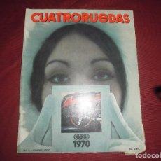 Coches: REVISTA ANTIGUA CUATRORUEDAS NUMERO 73. Lote 93780125