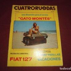 Coches: REVISTA ANTIGUA CUATRORUEDAS NUMERO 91. Lote 93781520
