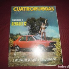 Coches: REVISTA ANTIGUA CUATRORUEDAS NUMERO 78. Lote 93781645