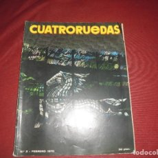 Coches: REVISTA ANTIGUA CUATRORUEDAS NUMERO 74. Lote 93782325