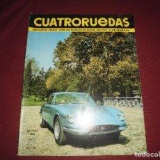 Coches: REVISTA ANTIGUA CUATRORUEDAS NUMERO 34. Lote 93782950