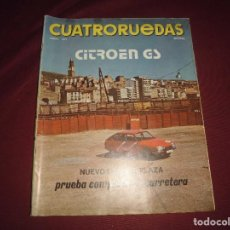 Coches: REVISTA ANTIGUA CUATRORUEDAS NUMERO 114. Lote 93784330