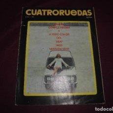 Coches: REVISTA ANTIGUA CUATRORUEDAS NUMERO 112. Lote 93784490