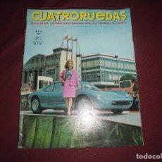 Coches: REVISTA ANTIGUA CUATRORUEDAS NUMERO 41. Lote 93785175