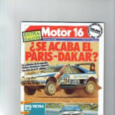 Coches: REVISTA MOTOR 16 Nº 274. Lote 93988745