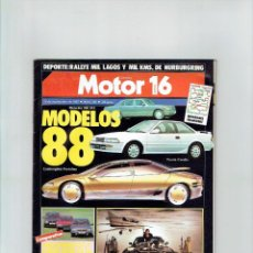 Coches: REVISTA MOTOR 16 Nº 202- BMW 730I. Lote 94011485
