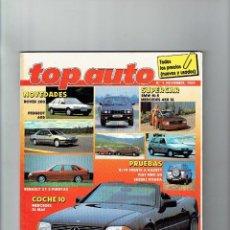 Coches: REVISTA TOP AUTO Nº 1 1989. Lote 94041375