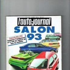 Coches: REVISTA CATÁLOGO ANUAL 1993 L'AUTO JOURNAL. Lote 94795459