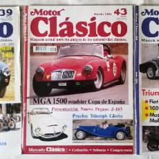 Coches: MOTOR CLÁSICO 39-43-54. Lote 95338375