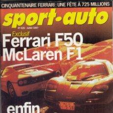 Coches: REVISTA SPORT AUTO FRANCES Nº 426 AÑO 1997. PRUEBA: MERCEDES BRABUS SLK 2.6 KOMPRESSOR. VOVO S70 R. . Lote 95347139