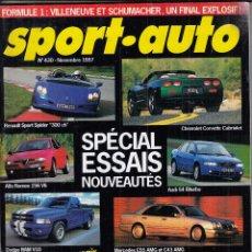 Coches: REVISTA SPORT AUTO FRANCES Nº 430 AÑO 1997. PRUEBA: MERCEDES C43 AMG Y MERCEDES E 55 AMG. AUDI S4.. Lote 95347591