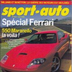 Coches: REVISTA SPORT AUTO FRANCES Nº 415 AÑO 1996. PRUEBA: MERCEDES SLK 230 KOMPRESOR. AUDI A3 1.8T. . Lote 95495235