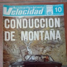Coches: VELOCIDAD N° 360 AÑO 1968. Lote 95748967