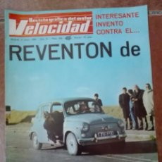 Coches: VELOCIDAD N° 382 AÑO 1969. Lote 95749075