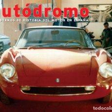 Coches: AUTODROMO 6 - DAGSA RAMON CASANOVA DE TOMASO VALLELUNGA GP PEÑA RHIN SPORT. Lote 119631279
