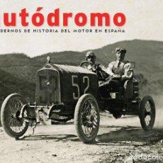 Coches: AUTODROMO 7 - BUGATTI CARDE ESCORIAZA AUTOCICLO AMERICA FORD ESCORT ESCUDERIA F1. Lote 222859421