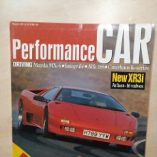 Coches: REVISITA PERFORMANCE CAR MARCH 1992. Lote 96105108