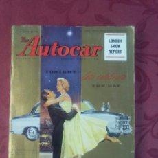 Coches: THE AUTOCAR .- MAGAZINE .- 24 OCTUBRE 1958 .- NUMERO ESPECIAL LONDON SHOW REPORT. Lote 97353435