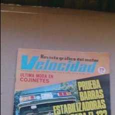 Coches: REVISTA VELOCIDAD N 674 AGOSTO 1974. Lote 97849579