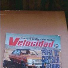 Coches: REVISTA VELOCIDAD N 718 JUNIO 1975. Lote 97853067