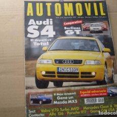 Coches: AUTOMOVIL 1997: AUDI S4; VOLVO V70; OPEL VECTRA; VW PASSAT; NISSAN PRIMERA; ETC.... Lote 97888463