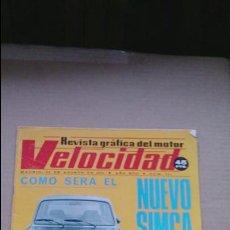 Coches: REVISTA VELOCIDAD N 781 AGOSTO 1976. Lote 97908471