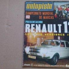 Coches: REVISTA AUTOPISTA N 836 FEBRERO 1975. Lote 98063091