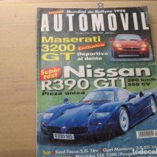 Coches: AUTOMOVIL 1999: MASERATI 3200 GT; NISSAN R390 GT1; PEUGEOT 406 COUPE; MERCEDES CLK 230K; ETC.... Lote 98095131