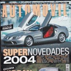 Coches: REVISTA AUTOMOVIL Nº 309 AÑO 2003. COMPARATIVA: PORSCHE BOXTER S Y RENAULT CLIO V6 SPORT. . Lote 98450779