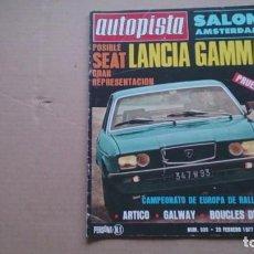 Coches: REVISTA AUTOPISTA N 939 FEBRERO 1977. Lote 98553339