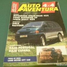 Coches: REVISTA 1995 AUTO AVENTURA 4X4 Nº 93.. Lote 98596147