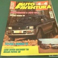 Coches: REVISTA 1996 AUTO AVENTURA 4X4 Nº 108. Lote 98596491