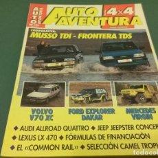 Coches: REVISTA 1998 AUTO AVENTURA 4X4 Nº 123. Lote 98596719