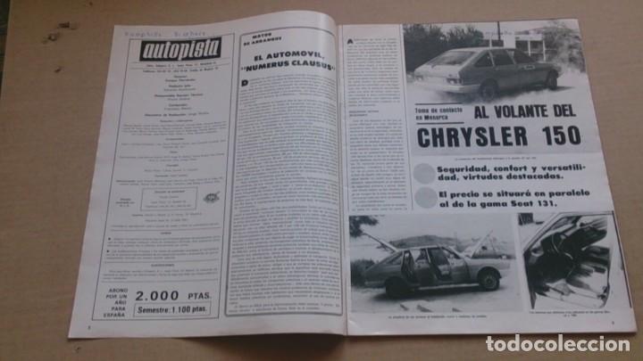 Coches: REVISTA AUTOPISTA N 970 SEPTIEMBRE1977 - Foto 2 - 98612363