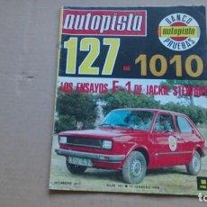 Coches: REVISTA AUTOPISTA N 991 FEBRERO 1978. Lote 98619271