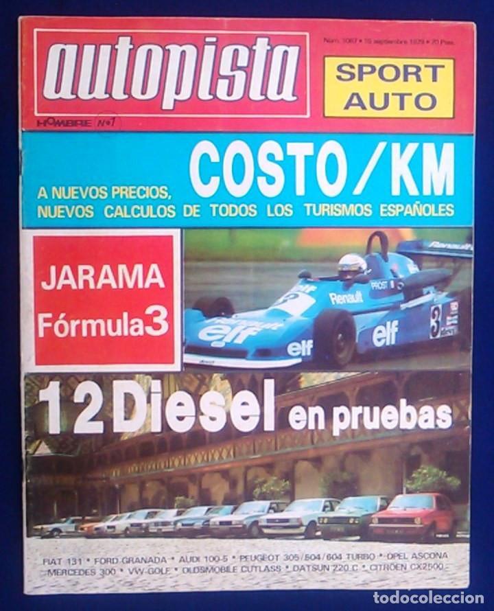 REVISTA AUTOPISTA Nº 1067. (Coches y Motocicletas Antiguas y Clásicas - Revistas de Coches)