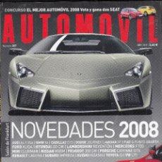 Coches: REVISTA AUTOMOVIL Nº 357 AÑO 2007. PRU MULTIPLE: FERRARI F430, FERRARI F430 SPIDER, FERRARI 599 GTB. Lote 98685067