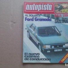 REVISTA AUTOPISTA N 1079 DICIEMBRE 1979
